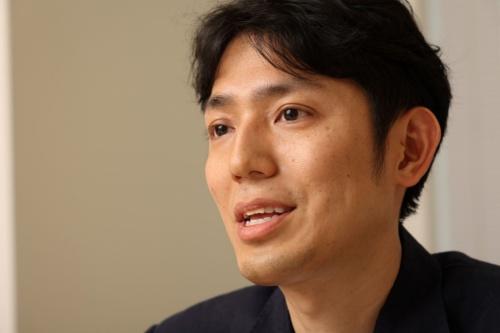 メルペイ代表取締役CEO(最高経営責任者)の青柳直樹氏