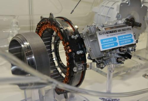 モーターシステムを高効率・小型化する技術の適用例(その1)