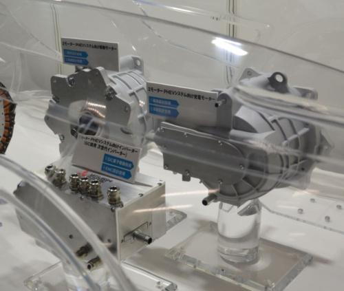 モーターシステムを高効率・小型化する技術の適用例(その2)