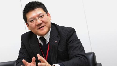 ドコモ・バイクシェア代表取締役社長の堀清敬氏
