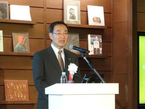 パナソニック 代表取締役社長 CEOの津賀一宏氏