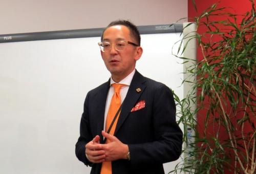 レッドハット代表取締役社長の望月弘一氏