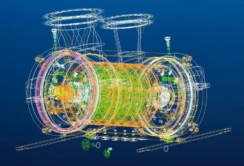 図1 コンプレッサー本体の自動設計システムの画面
