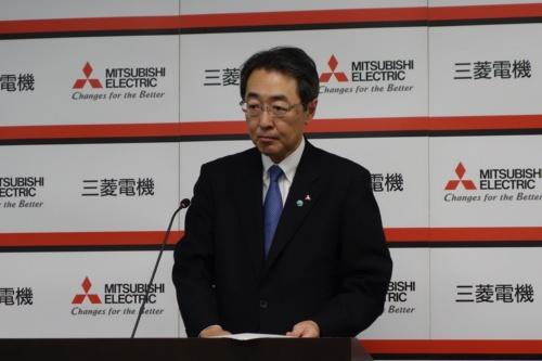 図1 事業戦略を説明する常務執行役FAシステム事業本部長の宮田芳和氏