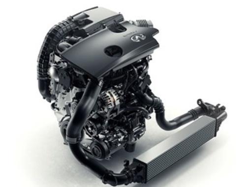 図3 可変圧縮比(VCR)を搭載した直列4気筒の直噴ガソリンエンジン「MR20DDT」
