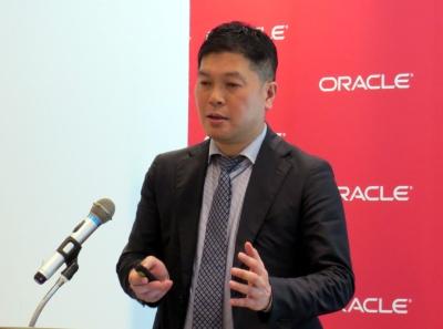 日本オラクル クラウド・アプリケーション事業統括ERP/EPMソリューション部部長の久保誠一氏