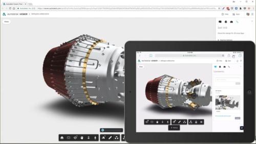 図1 ビューワー「Autodesk View」との連携