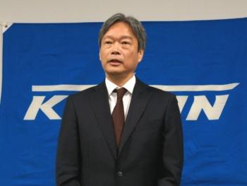 ケーヒン社長の横田千年氏