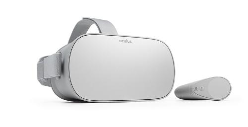 「Oculus Go」の外観(出所:オキュラスVR)