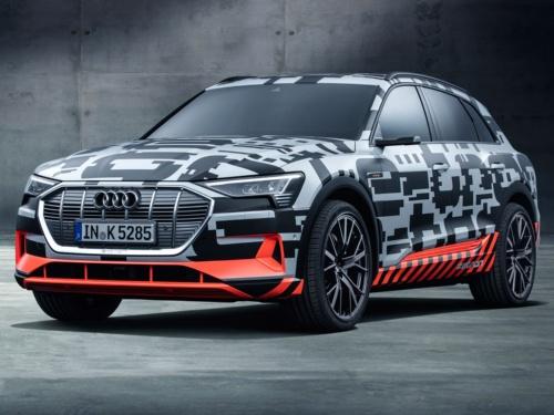 2018年後半にSUVのEVを量産する計画(出所:Audi)