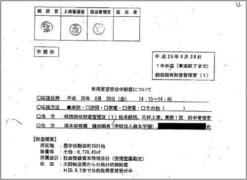 財務省が公開したPDFの一部。公開当初は、墨塗り部分に隠れた情報を読み出せる状態だったという。