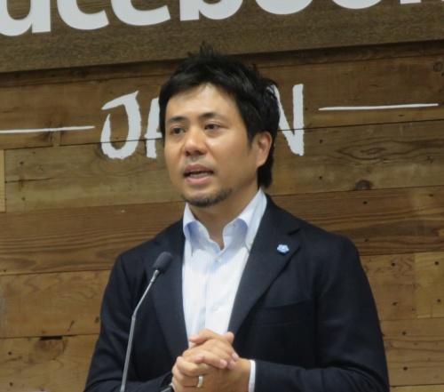 フェイスブック ジャパンの長谷川晋社長