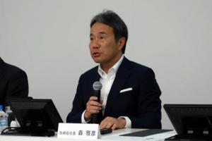 図1 DMG森精機取締役社長の森 雅彦氏
