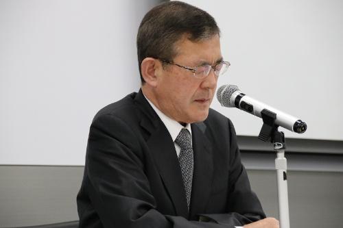 図2 SUBARU代表取締役社長の吉永泰之氏