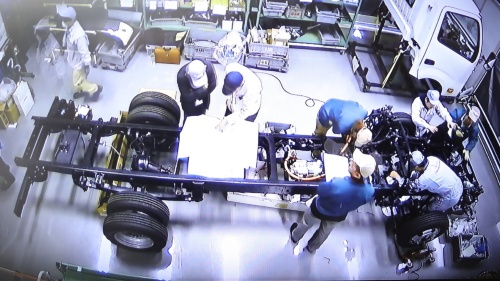 図3 日野自動車からのOEM車両「ダイナ」をベースに開発