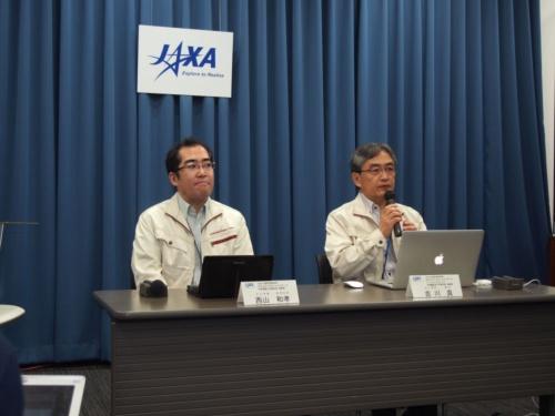 JAXAが2018年6月7日に開催した記者会見の様子