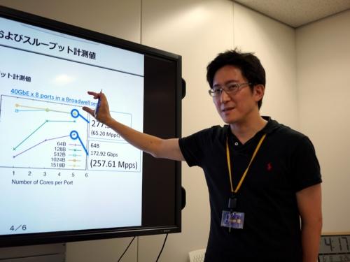 Kamueeの開発を手がけるNTTコミュニケーションズ 技術開発部の小原泰弘主査