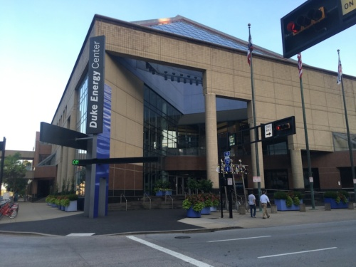 会場の「Duke Energy Convention Center」