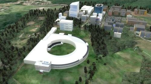 SLiT-Jの建設イメージ(出所:光科学イノベーションセンター)