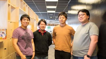 柄沢聡太郎マネージャー(左端)をはじめとするCorporate Solutions Engineeringのメンバー