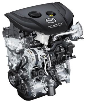 マツダが新開発した排気量1.8Lのディーゼルエンジン(出所:マツダ)