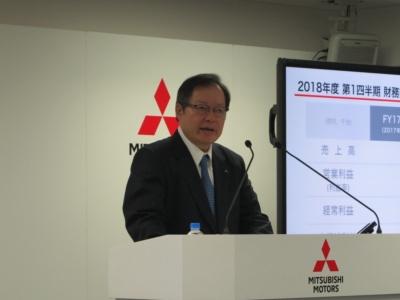三菱自動車副社長の池谷光司氏