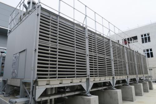 3MWまで冷却できる冷却塔