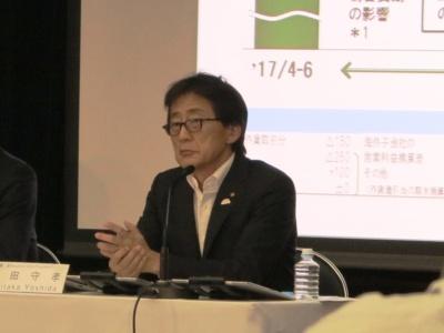 トヨタ自動車副社長の吉田守孝氏