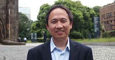 Yuniarto Widjaja氏。日経 xTECHが撮影