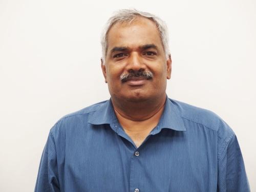 Ravi Thummarukudy氏。日経 xTECHが撮影。