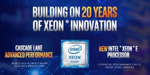 Xeon発売20周年記念に次期ハイエンド製品などを発表。Intelの図
