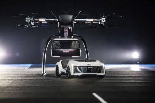 「Pop.Up Next」の公開試験の様子(写真:Audi)