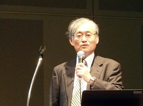 慶応義塾大学大学院SDM研究科 教授の中野氏(撮影:日経 xTECH)