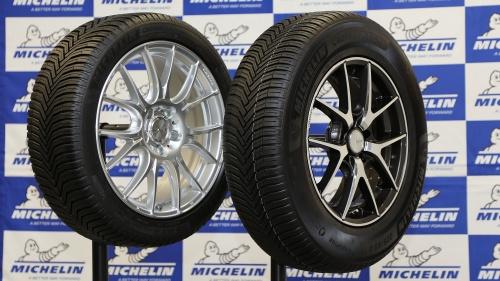 図1 フランス・ミシュラン(Michelin)の日本法人は2019年1月29日、夏冬兼用の新タイヤを発表した
