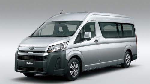 図1 トヨタ自動車が2019年3月からフィリピンで発売する新型「ハイエース」、斜め前から(出所:トヨタ自動車)