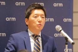 Arm Director, ADAS/Automated Driving Platform Strategyの新井相俊氏(撮影:日経 xTECH)
