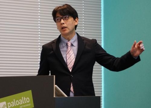 パロアルトネットワークスの広瀬努サイバーセキュリティ営業本部セールスマネージャー
