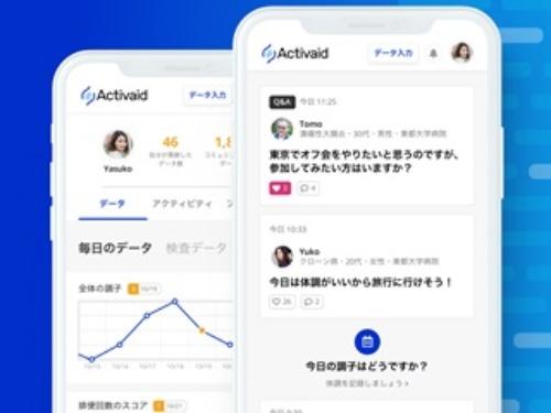 Activaidの画面イメージ