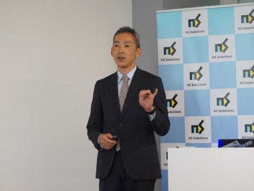 日鉄ソリューションズ技術本部システム研究開発センター所長の齋藤聡氏