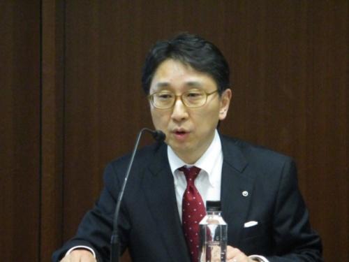 NTT技術企画部門イノベーション戦略担当の金井俊夫担当部長