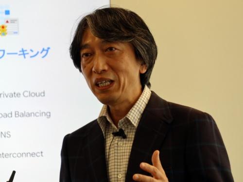 Google Cloudの阿部伸一日本代表
