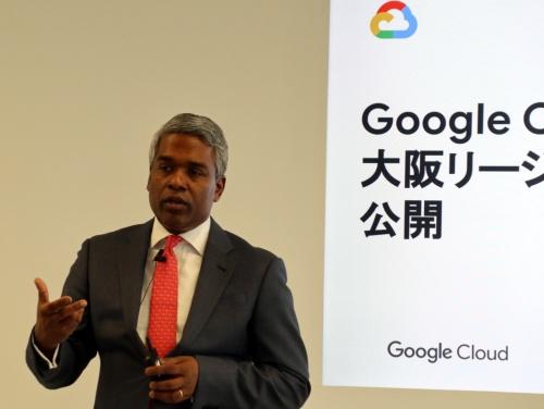 Google Cloudのトーマス・キュリアンCEO(最高経営責任者)