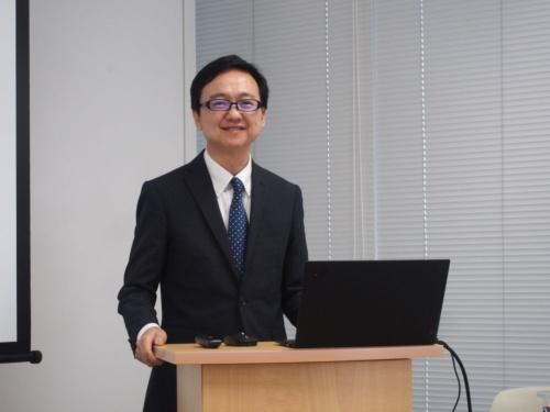 図2 OmniVision日本支社で車載製品担当のシニアマーケティングマネージャーを務める張啓文氏