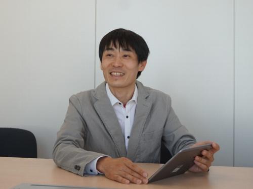 オーシャンアイズ社長の田中裕介氏