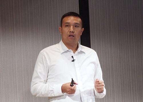 王 健宗氏。日経 xTECHが撮影。