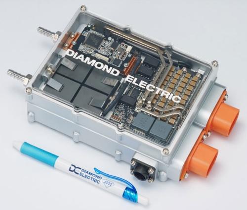 図2 開発した回路を搭載した試作機