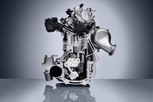 図1 日産のVCターボエンジン「VC-T」のカットモデル