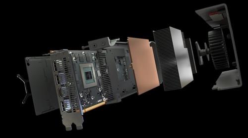 Radeon RX 5700の構造。AMDのイメージ