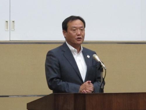 富士通の阪井洋之執行役員常務東京オリンピック・パラリンピック推進本部長