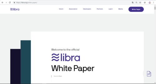 公開したホワイトペーパー